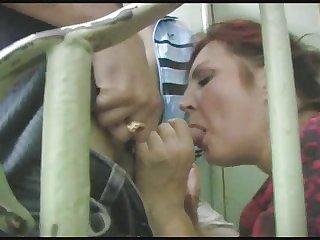 russian mature takes two facials