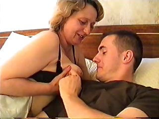 Russian Mom son's friend, Old Fat..