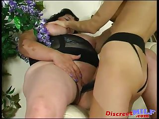 Dirty granny need some rough action 02