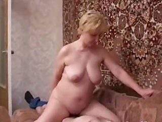 Russian moms Irina - Horny gets some..